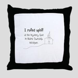 mysteryspot Throw Pillow