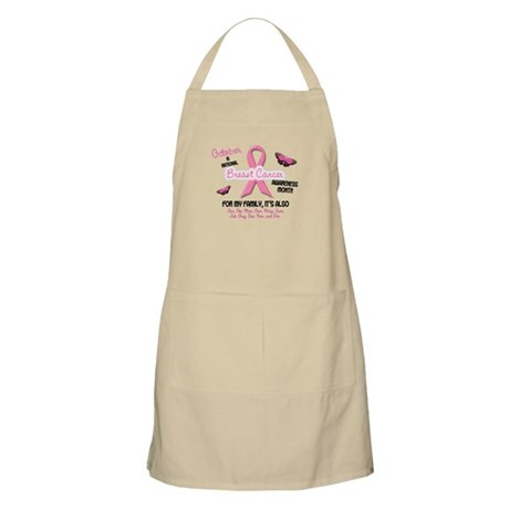 Breast Cancer Awareness Month 2.2 BBQ Apron