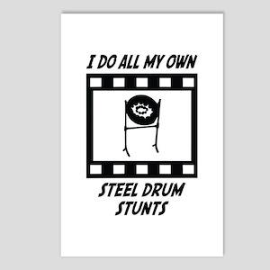 Steel Drum Stunts Postcards (Package of 8)