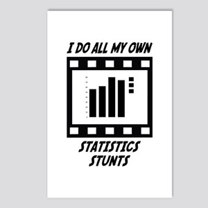 Statistics Stunts Postcards (Package of 8)