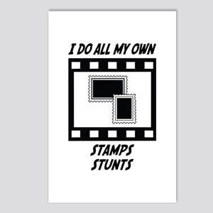 Stamps Stunts Postcards (Package of 8)