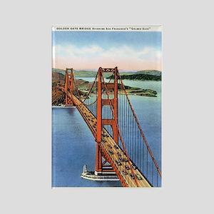 Golden Gate CA Rectangle Magnet