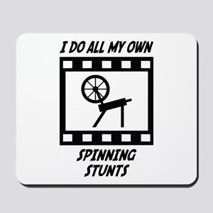 Spinning Stunts Mousepad
