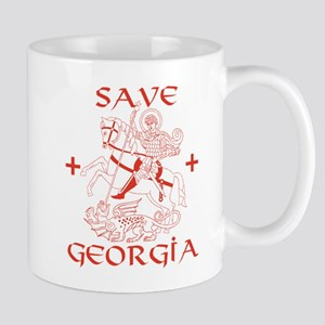 Save Georgia from Russia Mug