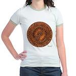 Helian Mural Jr. Ringer T-Shirt
