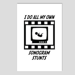 Sonogram Stunts Postcards (Package of 8)