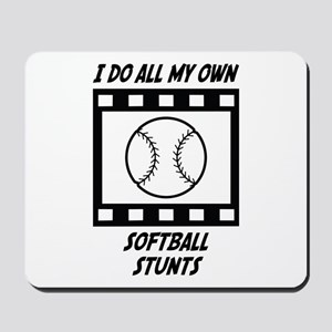 Softball Stunts Mousepad
