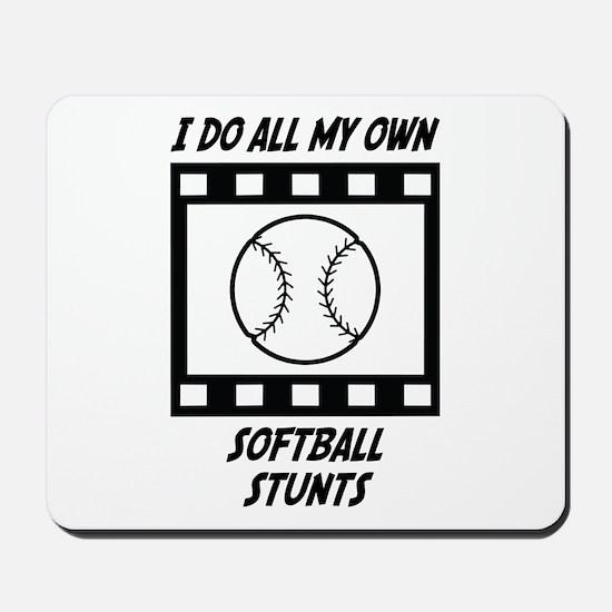 Softball Stunts Mousepad