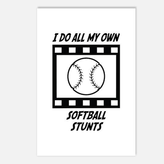 Softball Stunts Postcards (Package of 8)