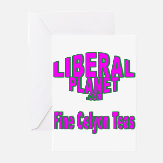 Liberal Planet Logo Greeting Cards (Pk of 10)
