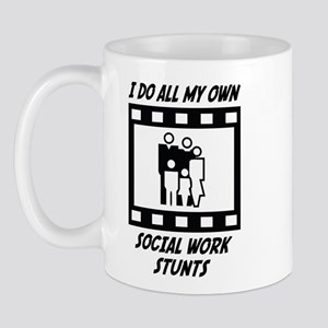 Social Work Stunts Mug