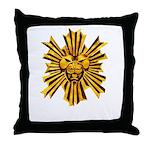Icon of Merrasat Throw Pillow