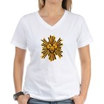 Icon of Merrasat Women's V-Neck T-Shirt