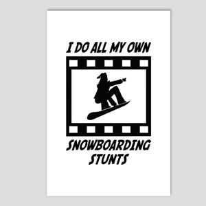 Snowboarding Stunts Postcards (Package of 8)