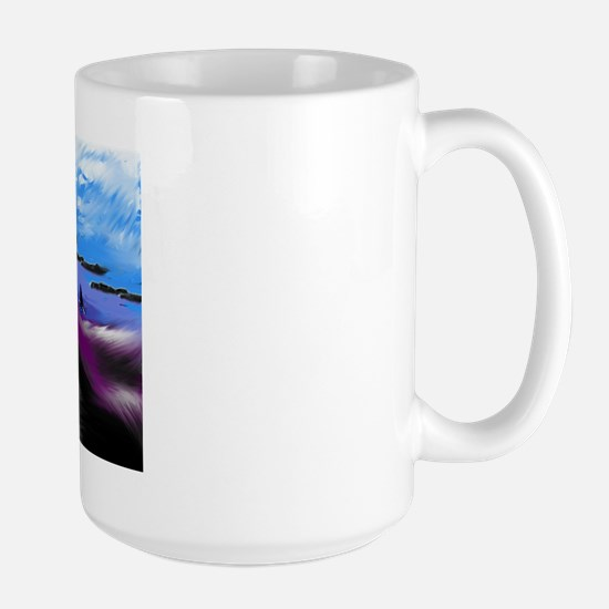 Mermaid's Seaside Large Mug