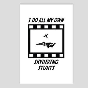Skydiving Stunts Postcards (Package of 8)