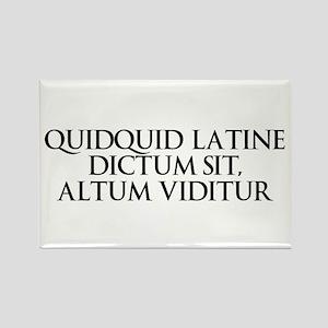 Latin Rectangle Magnet