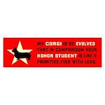 Obey the Corgi! Bumper Sticker