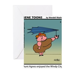 #3 Windy City Greeting Cards (Pk of 10)