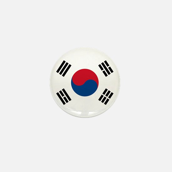 South Korean Flag Mini Button
