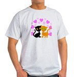 Kitty Cat Love Light T-Shirt