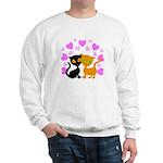 Kitty Cat Love Sweatshirt