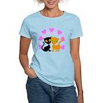Kitty Cat Love Women's Light T-Shirt