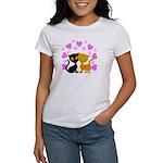 Kitty Cat Love Women's T-Shirt