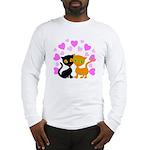 Kitty Cat Love Long Sleeve T-Shirt