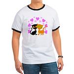 Kitty Cat Love Ringer T