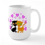 Kitty Cat Love Large Mug