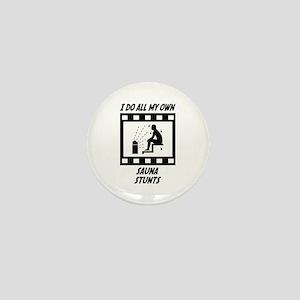 Sauna Stunts Mini Button