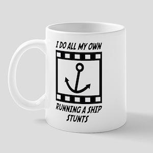 Running a Ship Stunts Mug