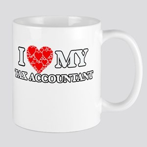 I Love my Tax Accountant Mugs