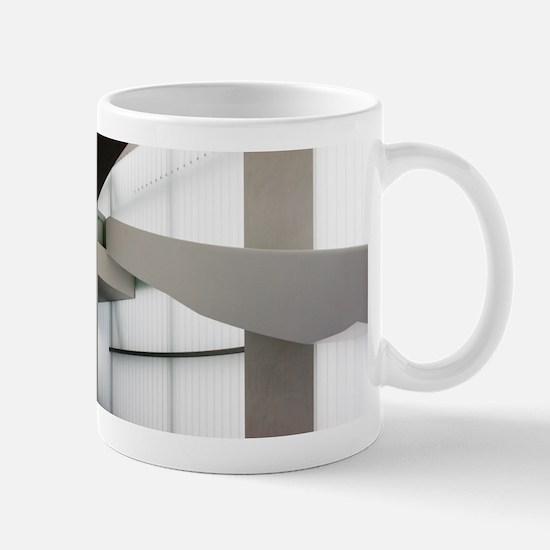 White on White Mug