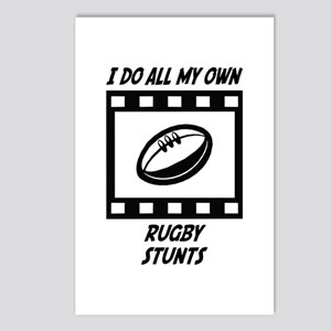Rugby Stunts Postcards (Package of 8)