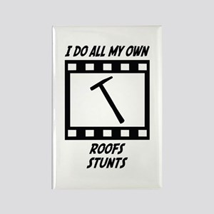 Roofs Stunts Rectangle Magnet