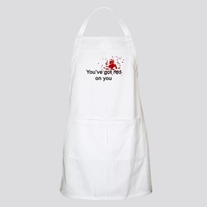 You've Got Red On You BBQ Apron