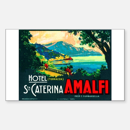 Hotel St Caterina (Amalfi) Luggage Sticker (UnCut)