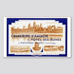 Grand Hotel d'Angkor Luggage Sticker (UnTrimmed)