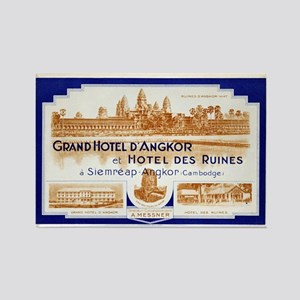Grand Hotel d'Angkor Rectangle Magnet