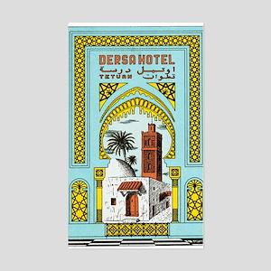 Dersa Hotel (Tetuan) Luggage Sticker (UnTrimmed)