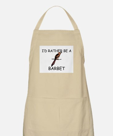 I'd Rather Be A Barn Owl BBQ Apron