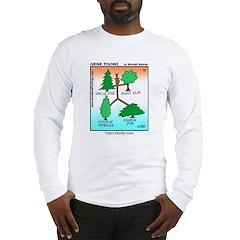 #10 Tree's family man Long Sleeve T-Shirt