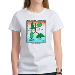 #10 Tree's family man Women's T-Shirt