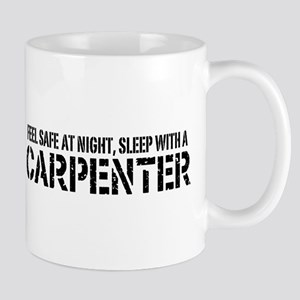 Feel Safe With A Carpenter Mug