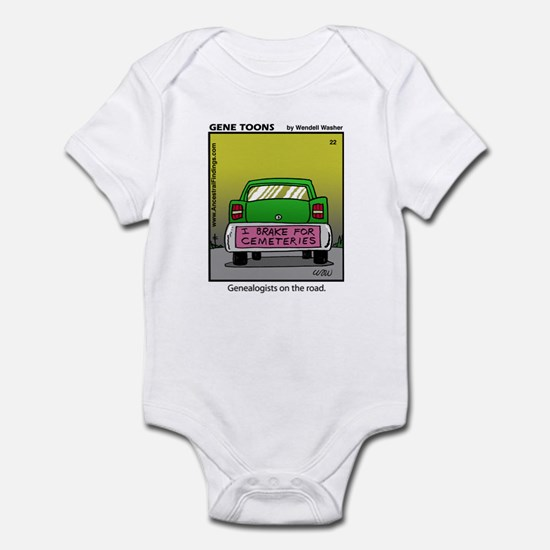 #22 On the road Infant Bodysuit