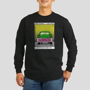 #22 On the road Long Sleeve Dark T-Shirt