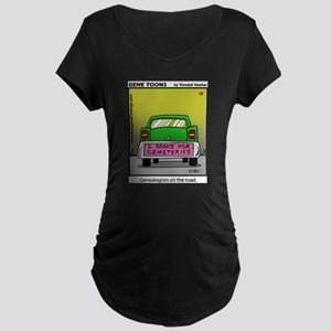 #22 On the road Maternity Dark T-Shirt