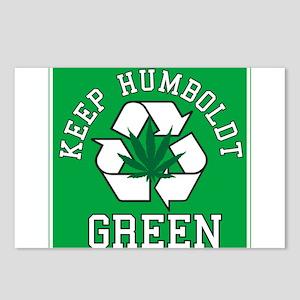 Keep Humboldt Green Postcards (Package of 8)